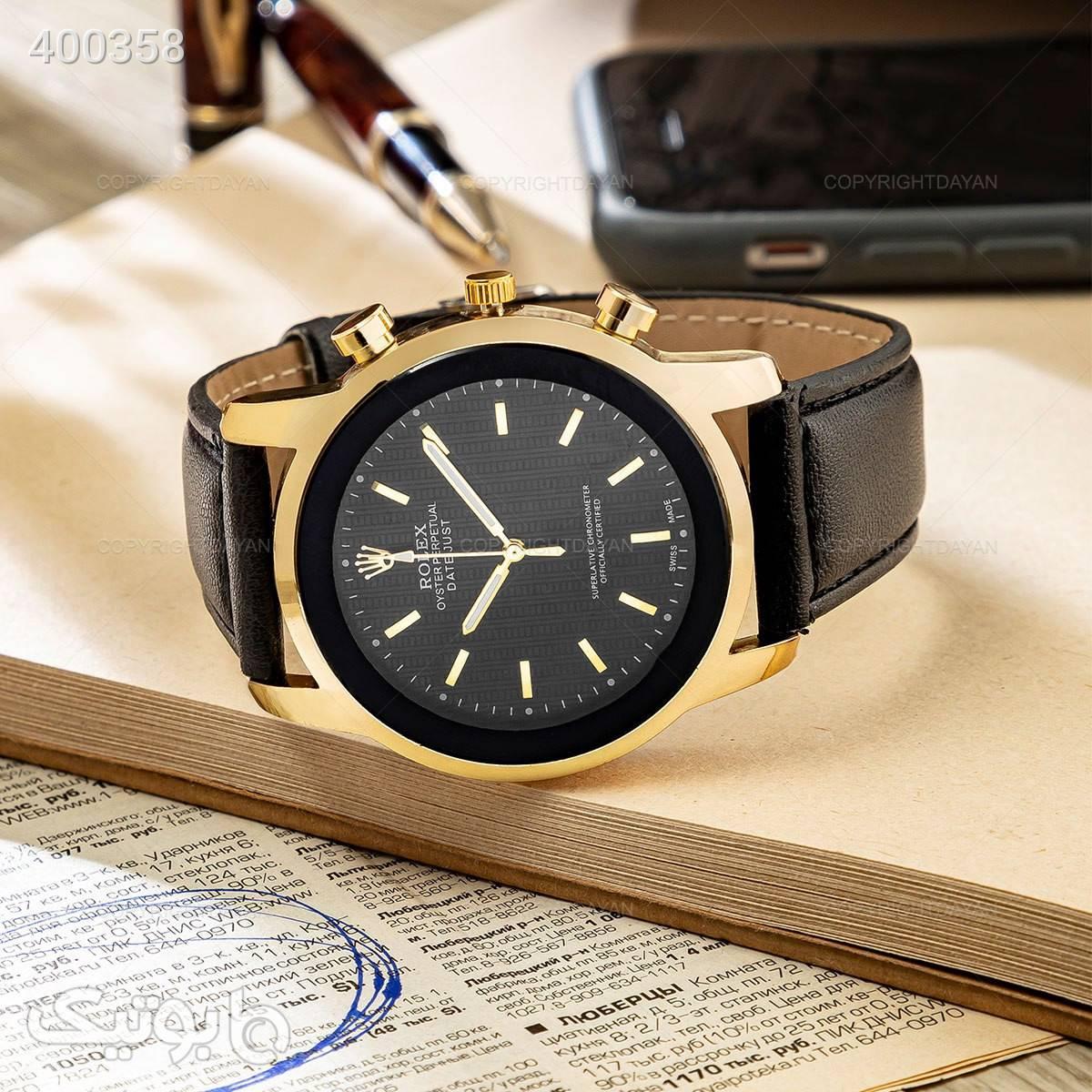 ساعت مچی Rolex مدل 12578   مشکی ساعت