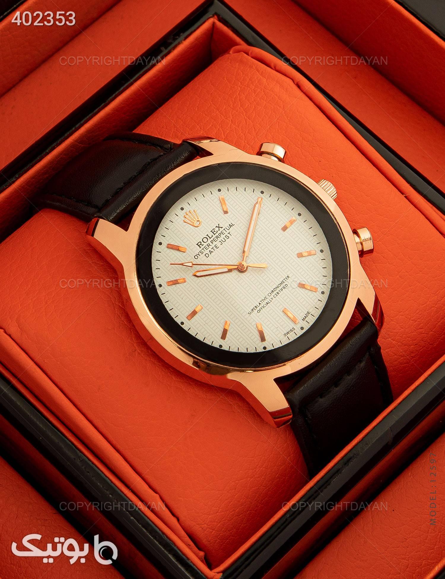 ساعت مچی Rolex مدل 12597 مشکی ساعت