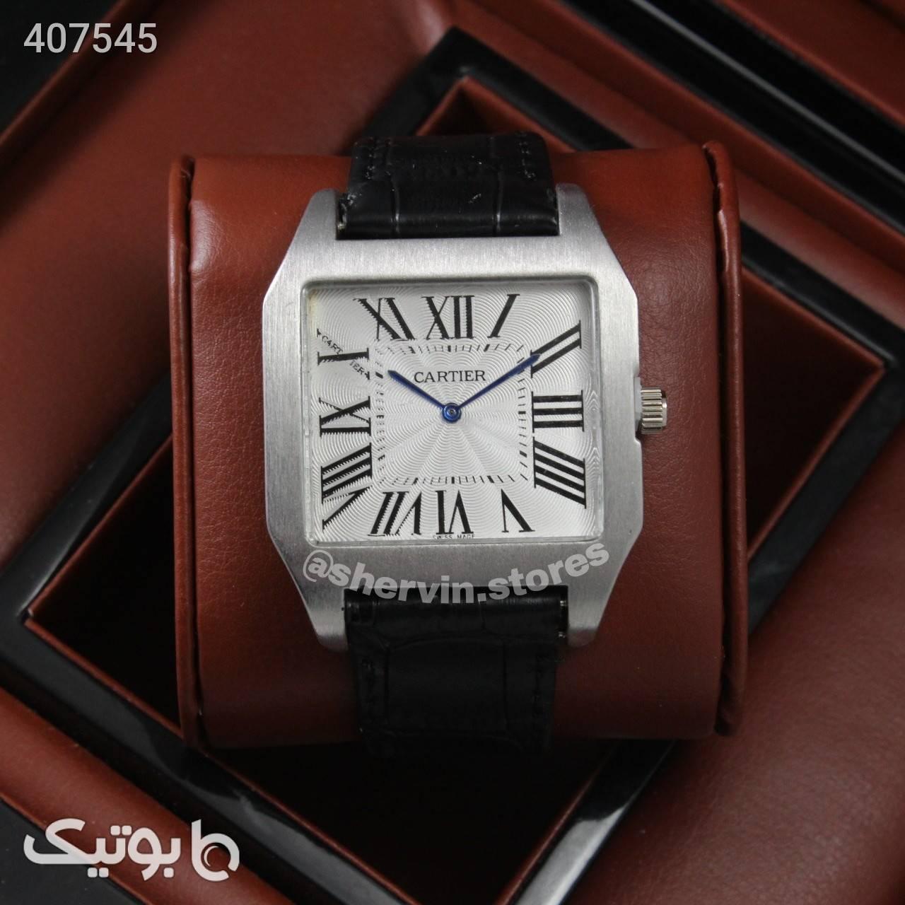 ساعت Cartier مشکی ساعت