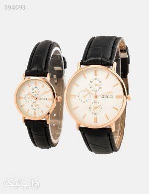 ست ساعت مچی Gucci مدل 12367 مشکی ساعت