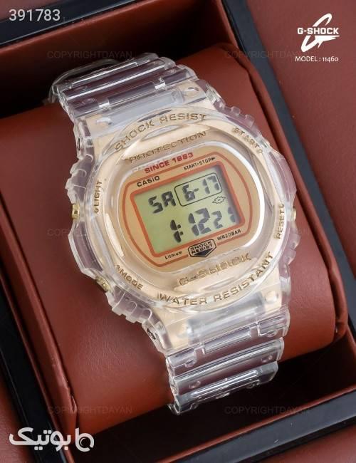 ساعت مچی Casio مدل 11460  طلایی ساعت