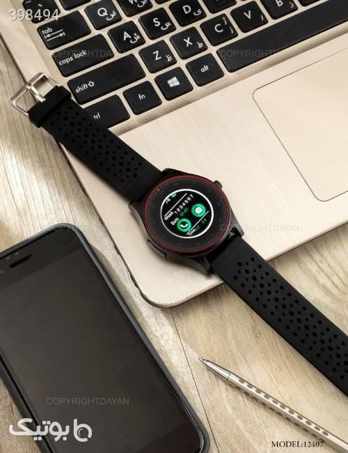 ساعت هوشمند V9 مدل 12407  مشکی ساعت