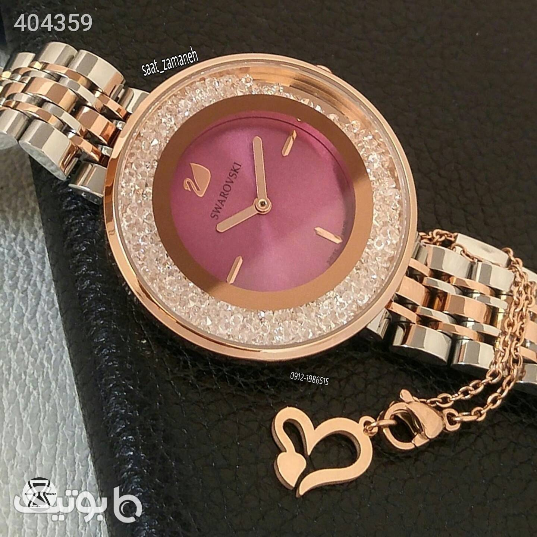 SWAROVSKI زنانه زرد ساعت