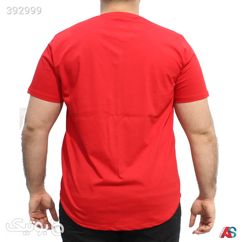 تیشرت سایز بزرگ کدمحصول tn005 قرمز سایز بزرگ مردانه