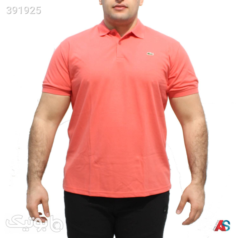 تیشرت سایز بزرگ کد محصول LAG024 صورتی سایز بزرگ مردانه