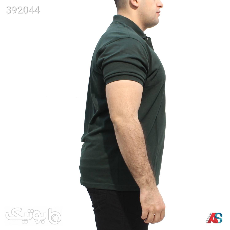 تیشرت سایز بزرگ کد محصول LAG05 سبز سایز بزرگ مردانه