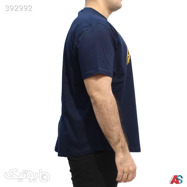 تیشرت سایز بزرگ کد محصول tn001 سورمه ای سایز بزرگ مردانه