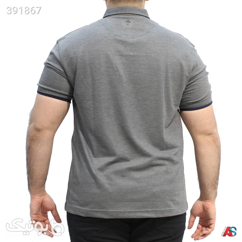 پولوشرت سایزبزرگ کد محصول ploo114 طوسی سایز بزرگ مردانه
