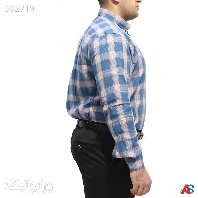 پیراهن سایزبزرگ کد محصول deb s112 مشکی سایز بزرگ مردانه