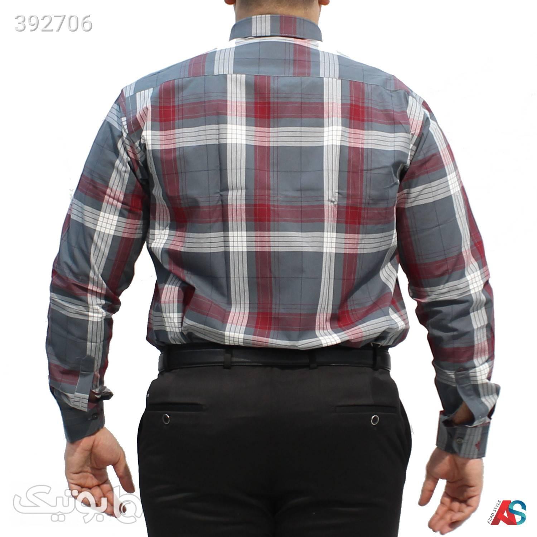 پیراهن سایز بزرگ کد محصول DEB108 مشکی سایز بزرگ مردانه