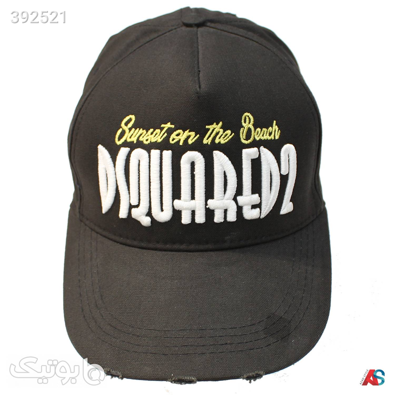 کلاه لبه دار اورجینال کد محصولDSQ0107 مشکی کلاه و اسکارف