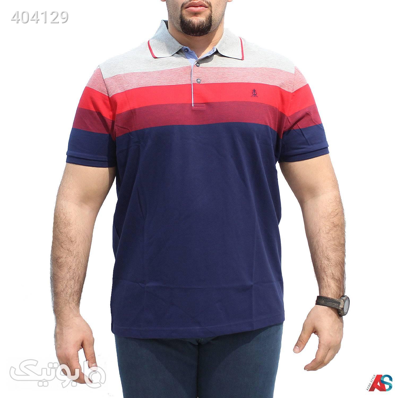 تیشرت سایز بزرگ کد محصولRoci03 سورمه ای سایز بزرگ مردانه