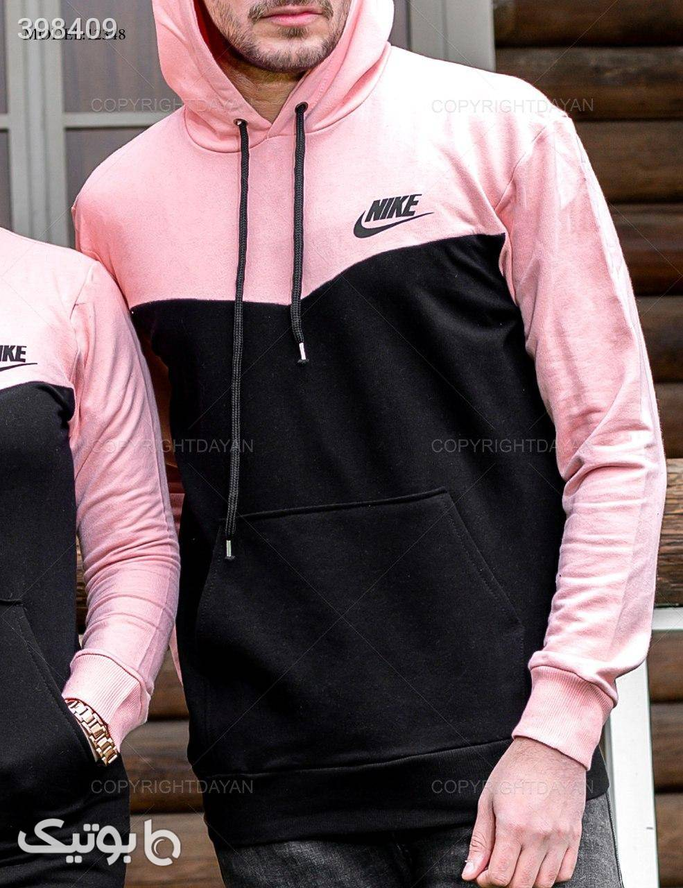ست مردانه و زنانه Nike مدل 12348  مشکی ست زوج و خانواده