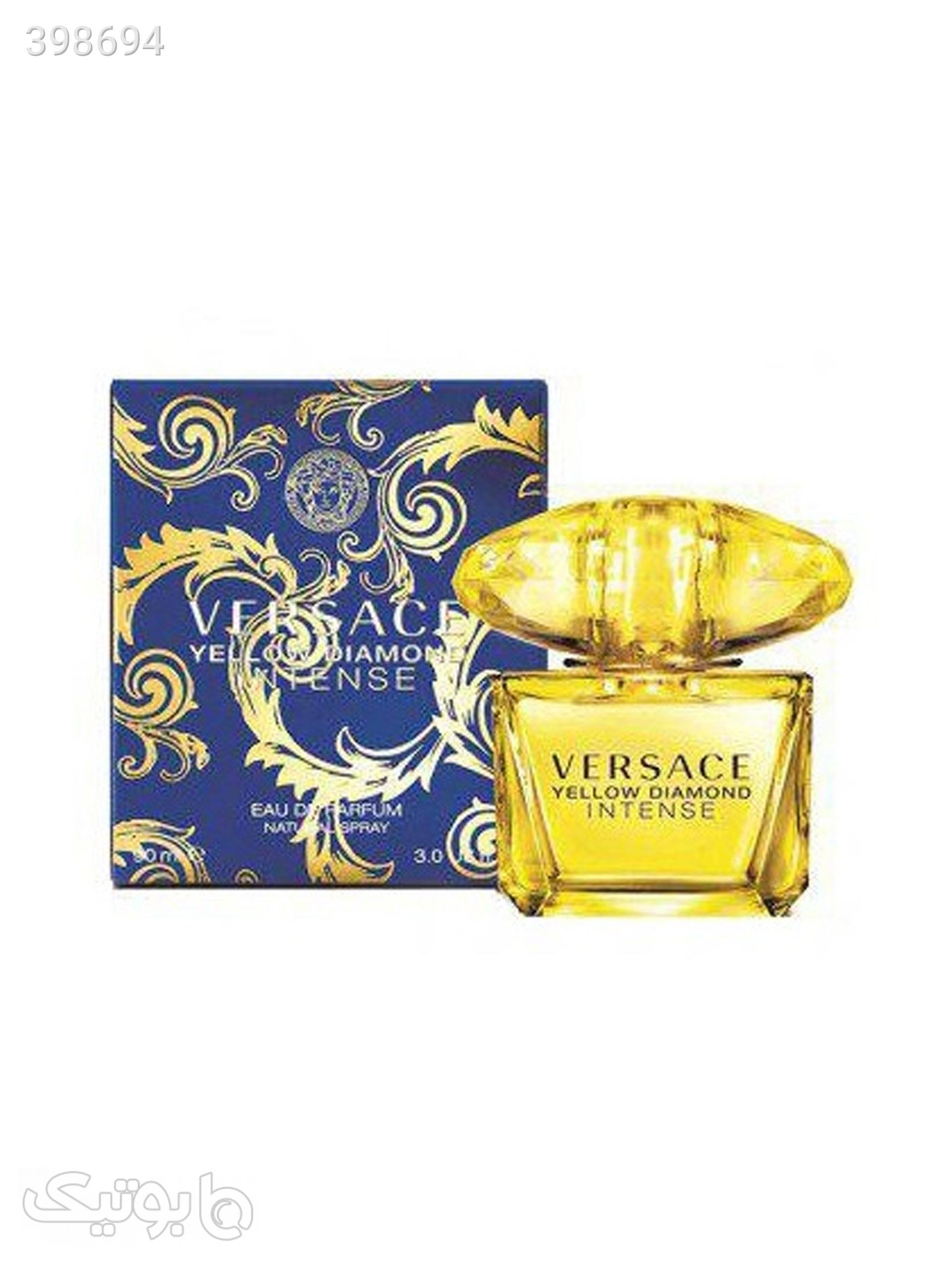 عطر زنانه ورساچه مدل Yellow Diamond Intense حجم 90 میل زرد عطر و ادکلن