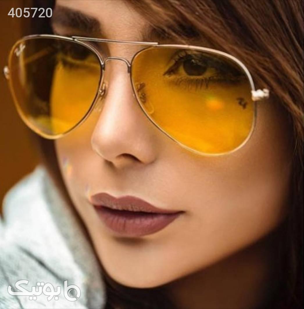 ریبن زرد عینک آفتابی