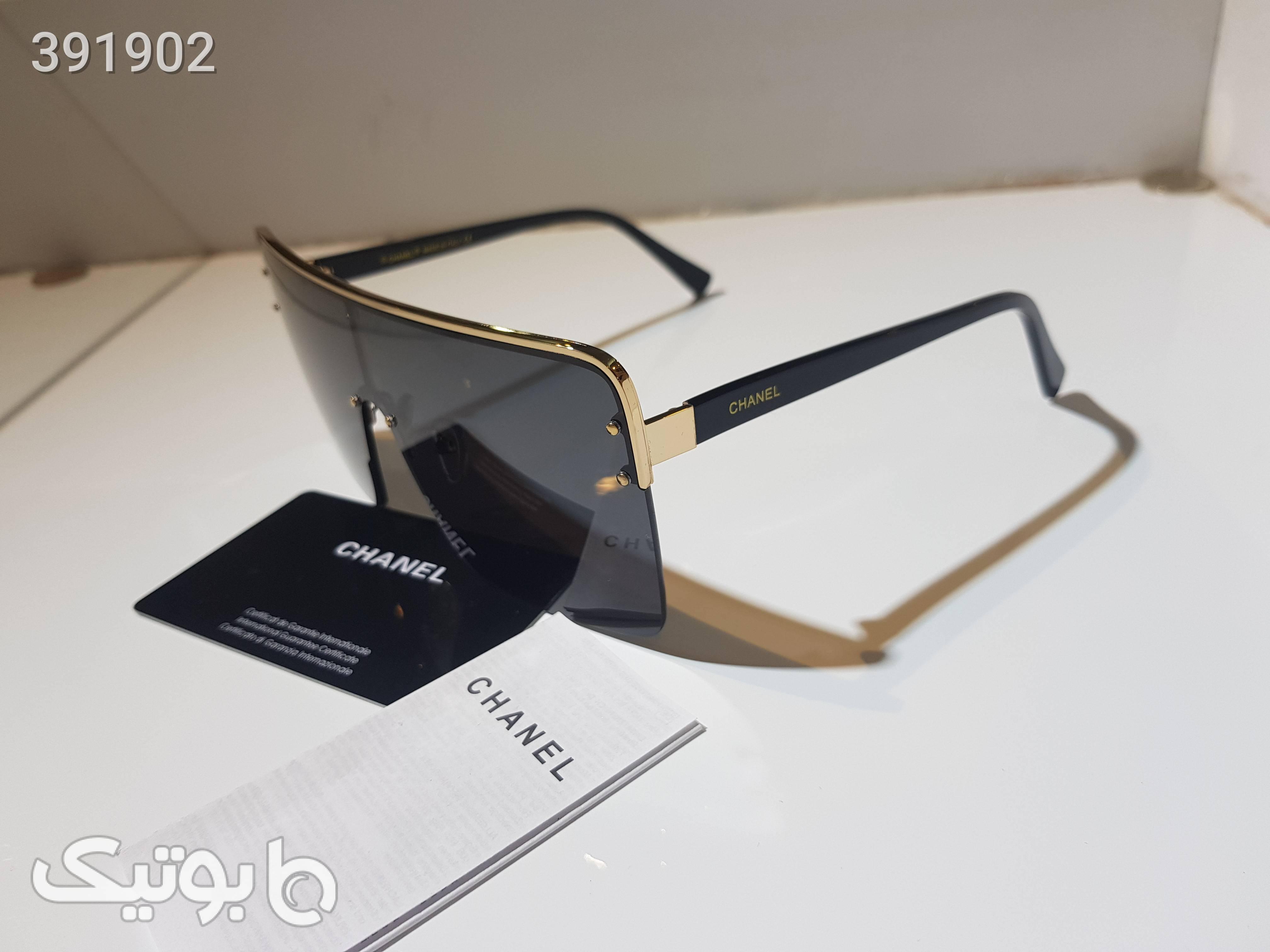 عینک آفتابی شنل chanel orginal مشکی عینک آفتابی