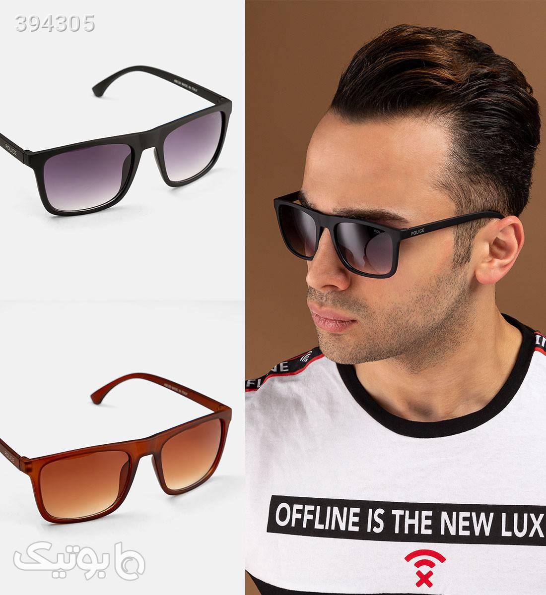 عینک آفتابی Police مدل 12424 بنفش عینک آفتابی
