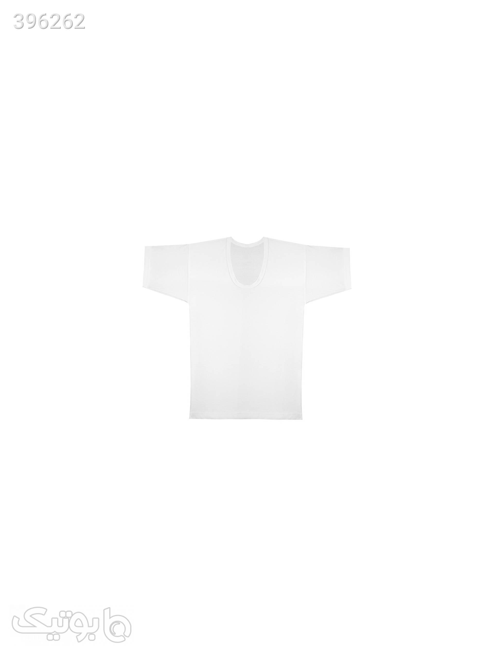 زیرپوش مردانه آیدا کد 3057 سفید لباس زیر مردانه