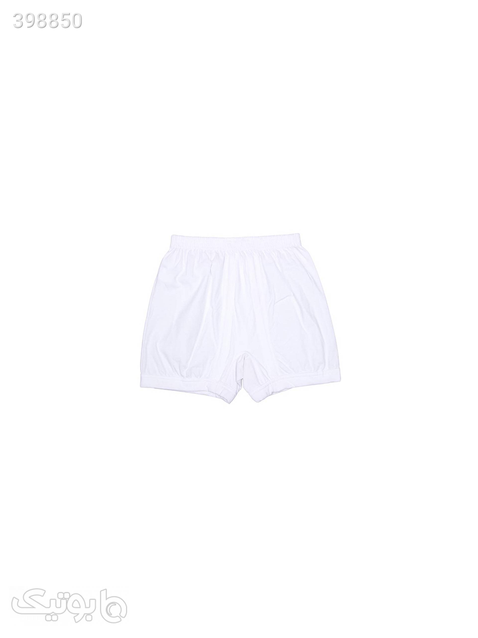 شورت مردانه مدل 15 سفید لباس زیر مردانه