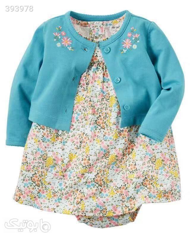 کت و سارافون کارترز آبی لباس کودک دخترانه