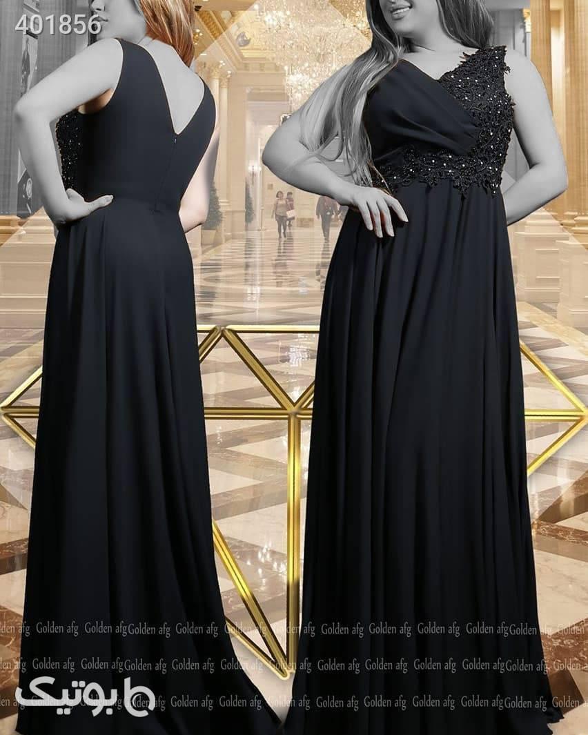 لباس مجلسی شب رها مدل ترک مشکی لباس  مجلسی