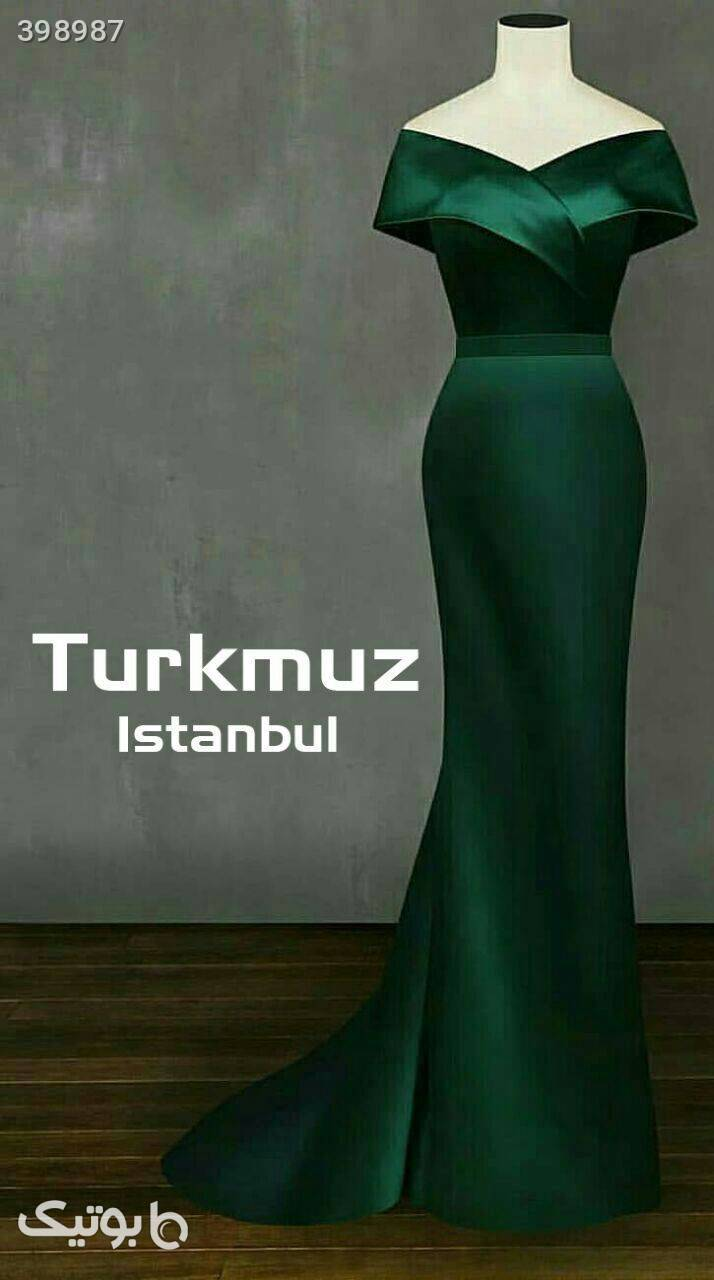 لباس مجلسی سبز لباس  مجلسی