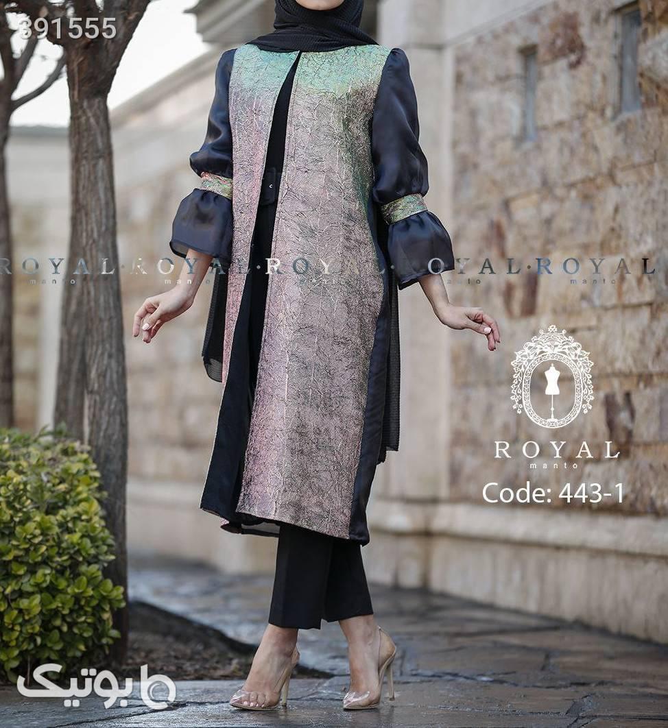 مدل: آشا جنس: لمه ارگانزا+سیلان آبی لباس  مجلسی