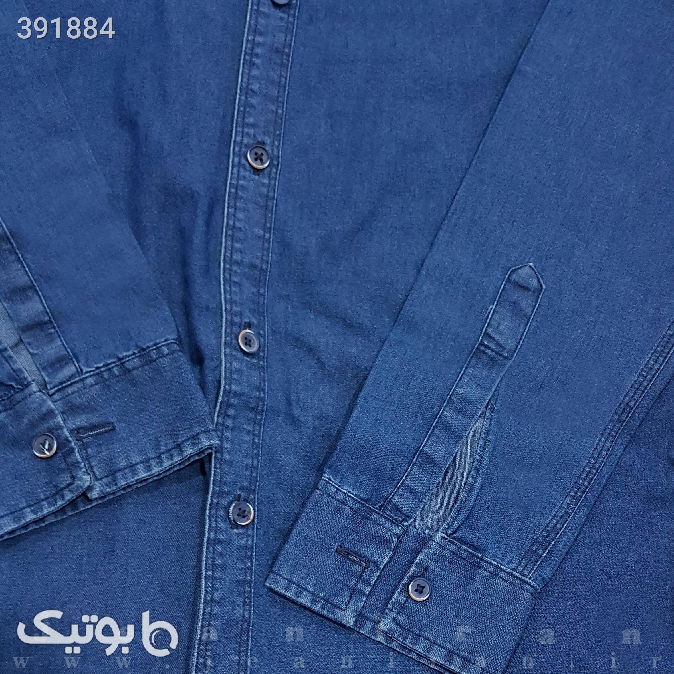 پیراهن لی آبی پيراهن مردانه