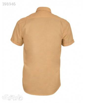 پیراهن مردانه آستین کوتاه جوتی جینز Jooti Jeans نارنجی پيراهن مردانه