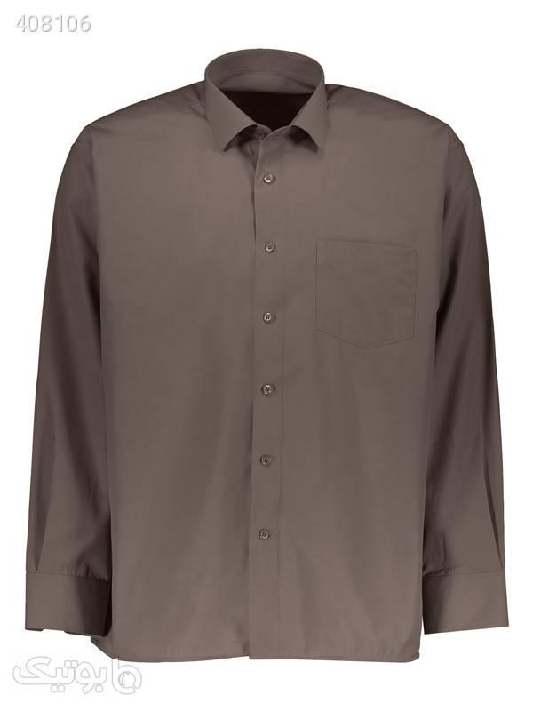 پیراهن مردانه کارلو کد 12 طوسی پيراهن مردانه
