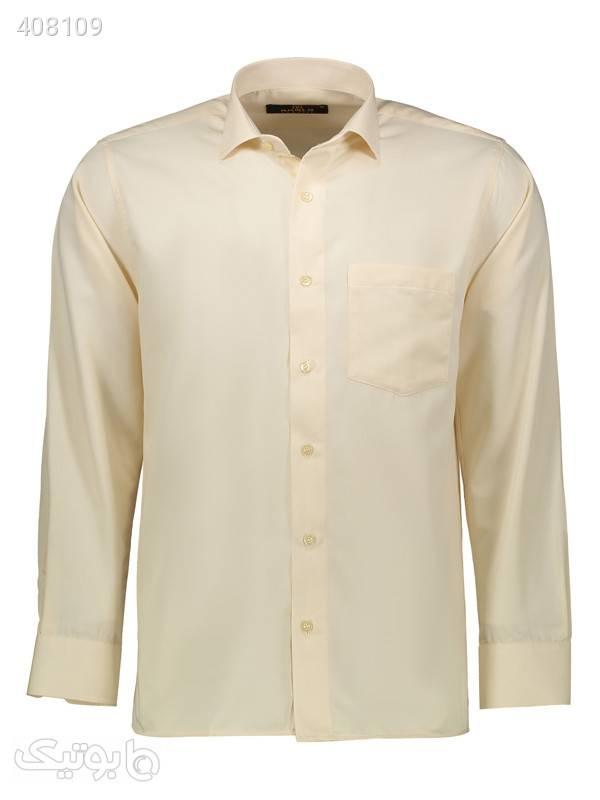 پیراهن مردانه کارلو کد 300004 کرم پيراهن مردانه