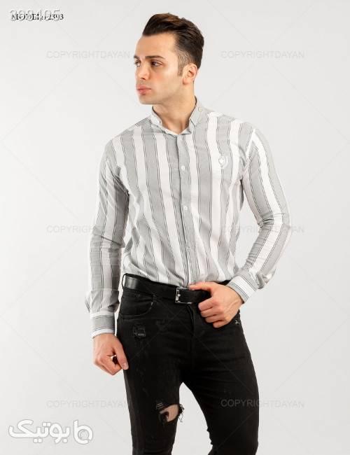 پیراهن مردانه Denver مدل 12393  سفید پيراهن مردانه