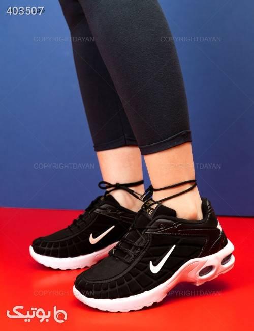 کفش زنانه Nike مدل 12489 مشکی كتانی زنانه