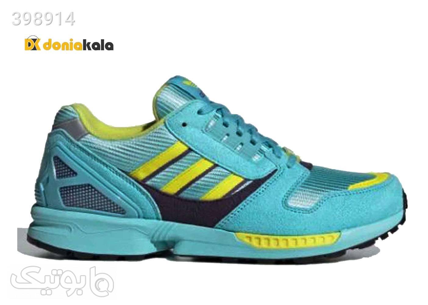 کتونی اسپرت و پیاده روی مردانه آدیداس زد ایکس آکوا Adidas ZX8000 aqua 2020 فیروزه ای كتانی مردانه