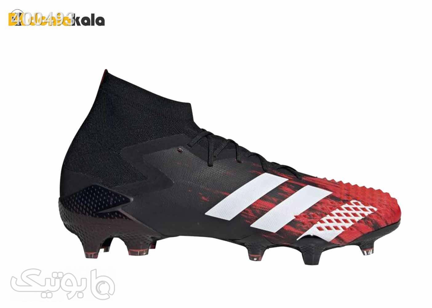 کفش فوتبال مردانه چمن طبیعی آدیداس پریداتور 20.1 adidas predator 20.1 fg مشکی كتانی مردانه
