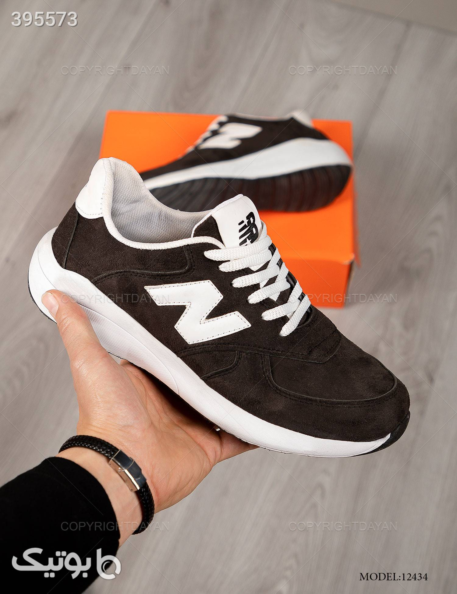 کفش مردانه New Balance مدل 12434 مشکی كتانی مردانه