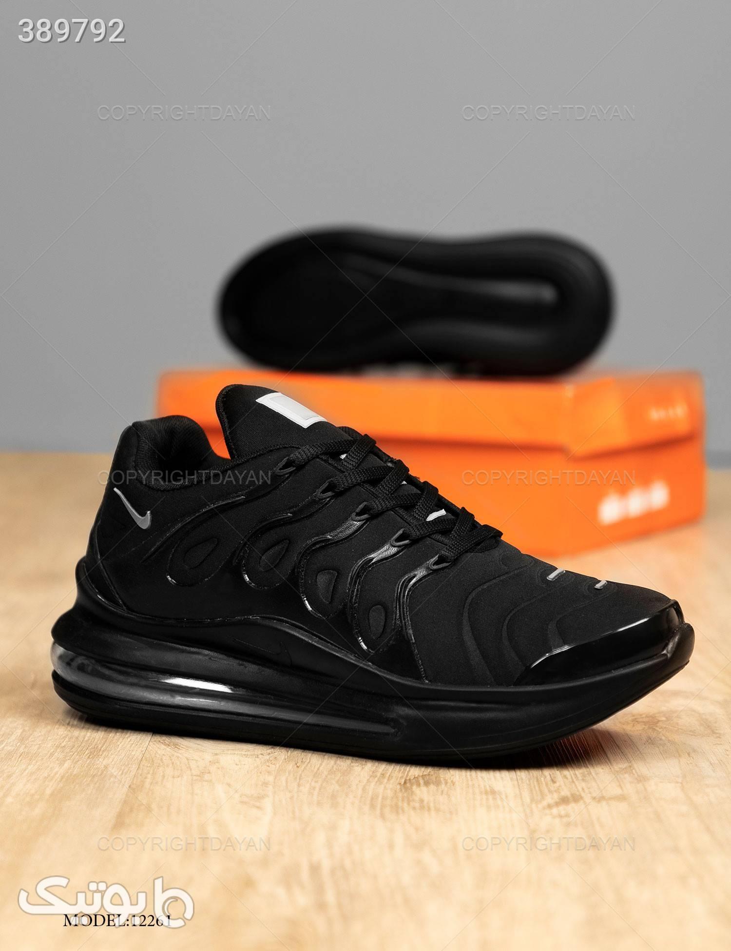 کفش مردانه Nike مدل 12261 مشکی كتانی مردانه