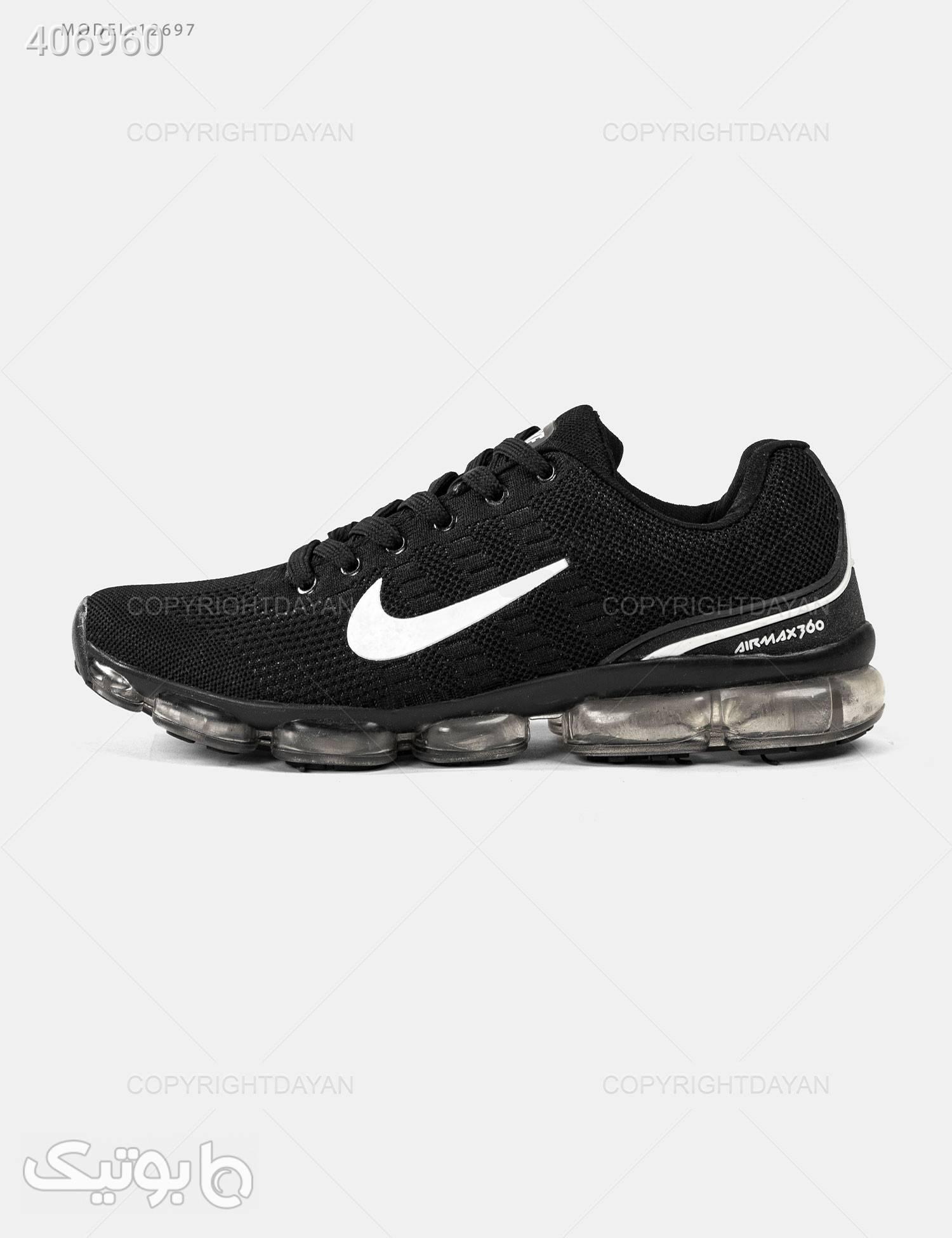 کفش مردانه Nike مدل 12697 مشکی كتانی مردانه