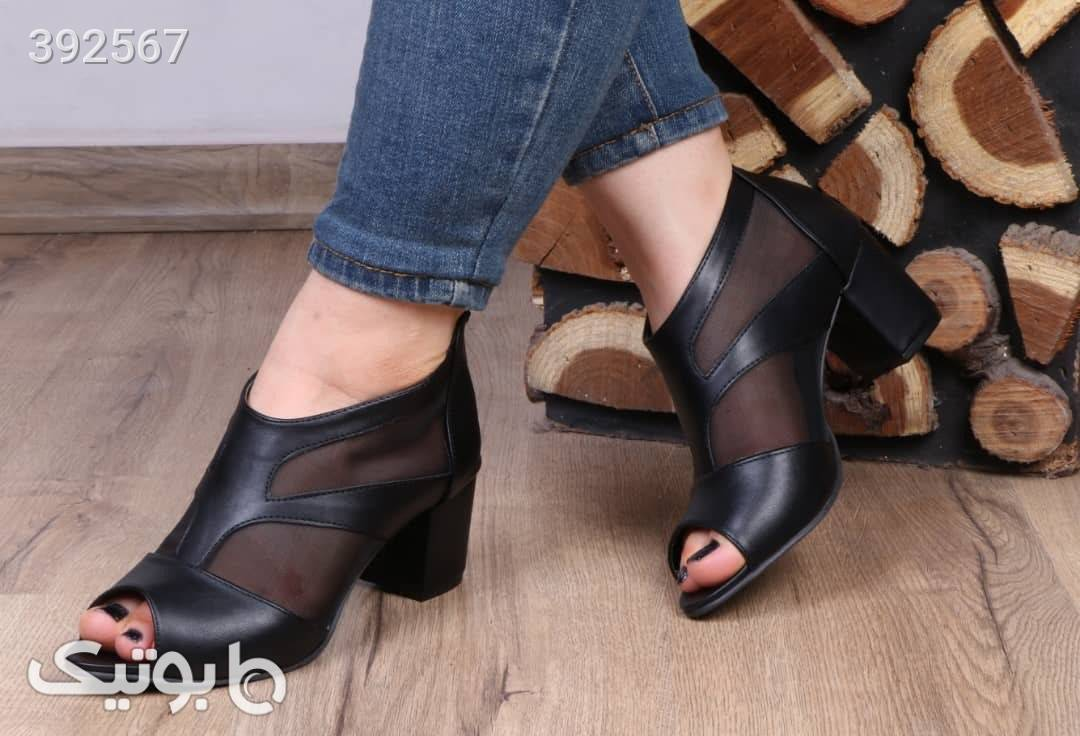 کفش بسیارشیک وخاص فوق پرفروش مشکی كفش زنانه