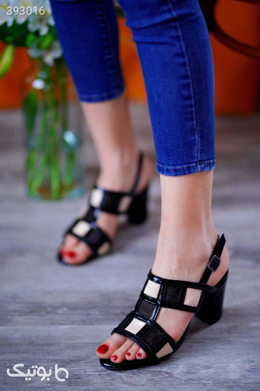 کفش بسیار شیک و لاکچری مشکی كفش زنانه