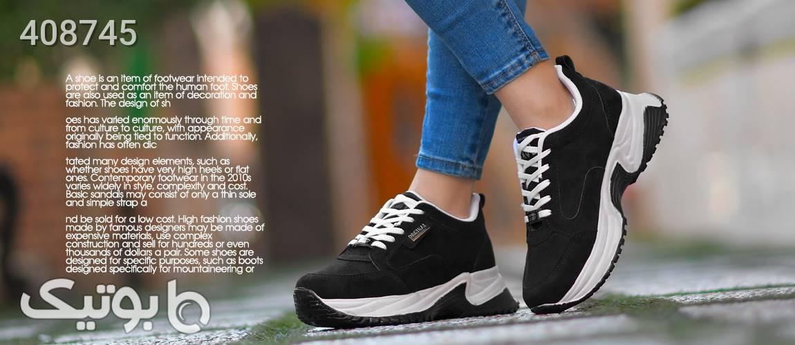 كفش دخترانه مدل DEMSO مشکی كفش زنانه