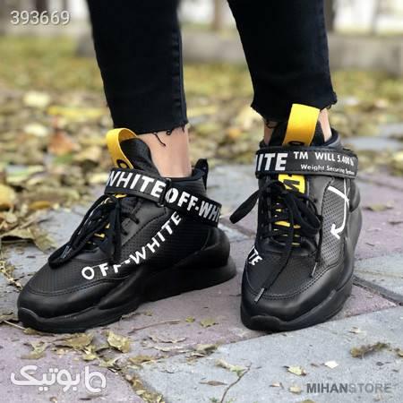 کفش دخترانه Off-White مشکی كتانی زنانه