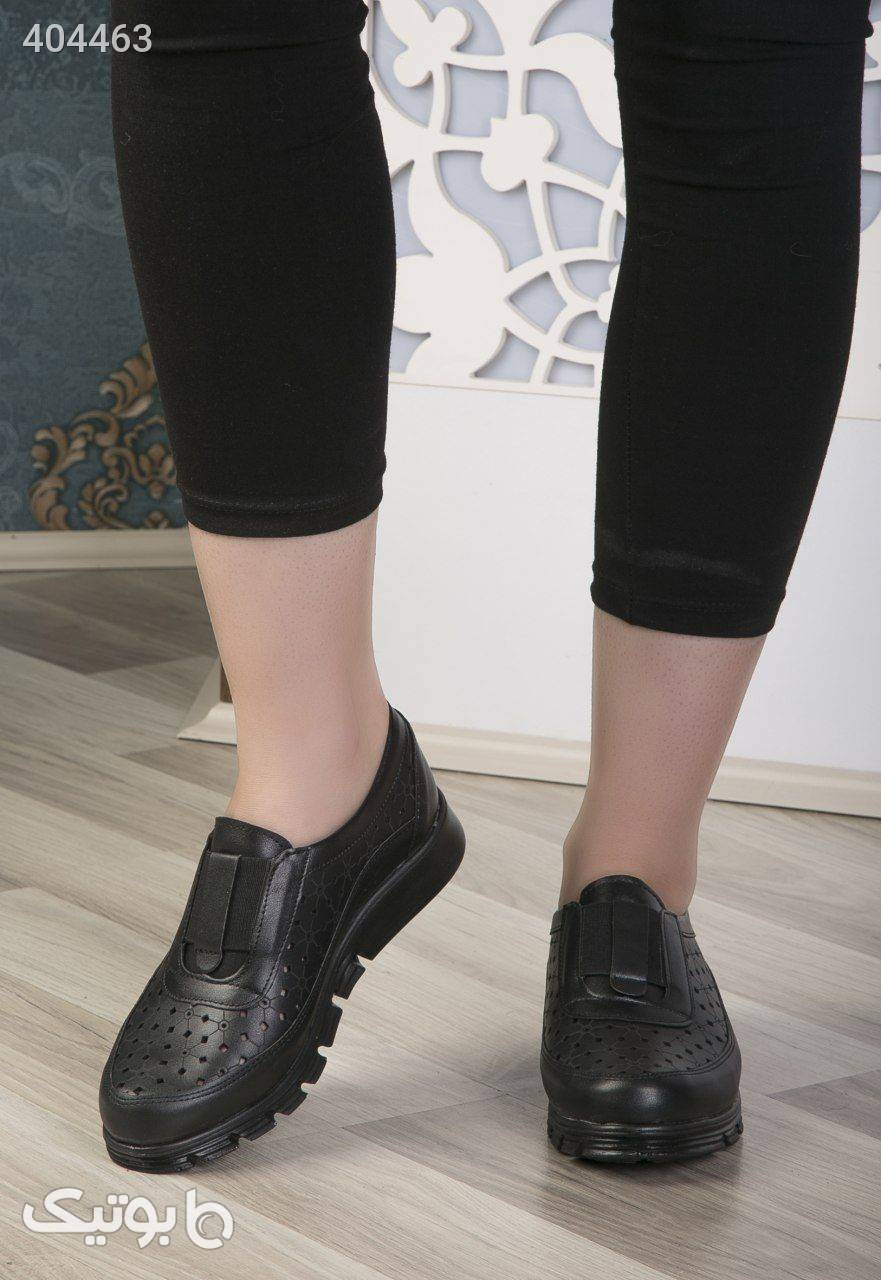 کفش راحتی طبی مشکی كفش زنانه