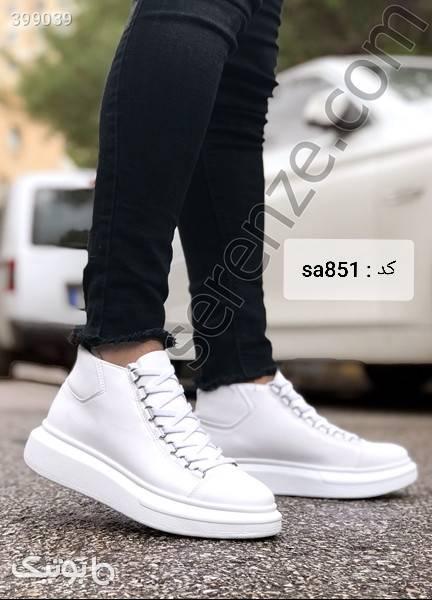 کفش مردانه ترک آبی كفش مردانه