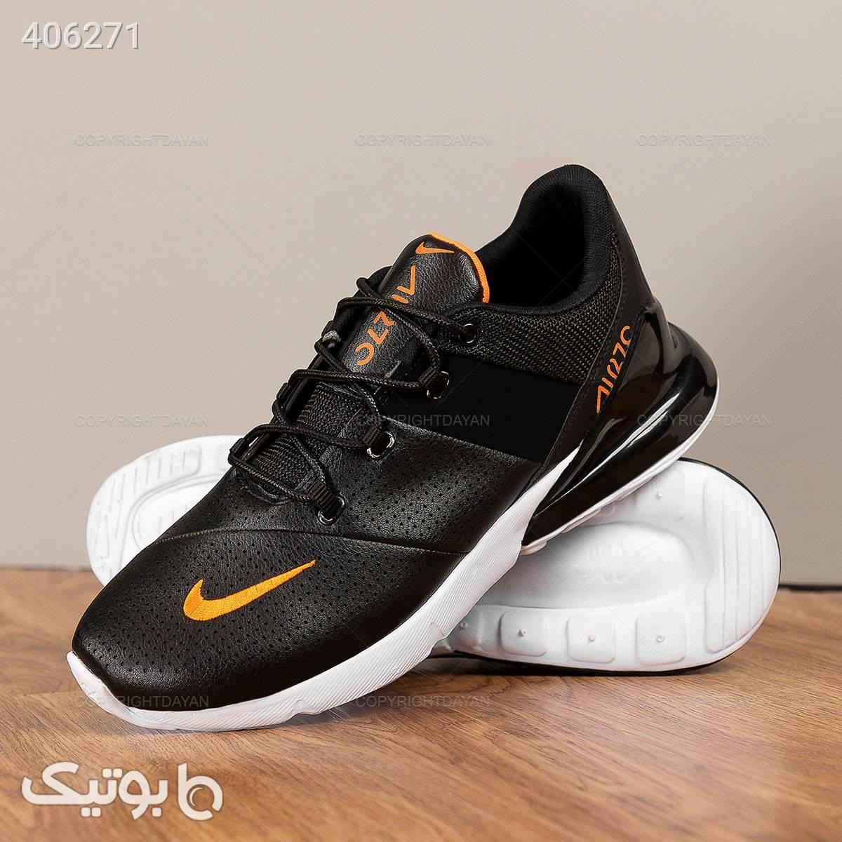 کفش مردانه Nike مدل 12729 مشکی كفش مردانه