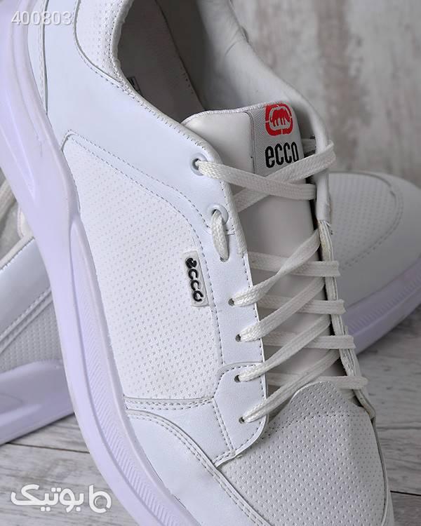 کفش  ورزشی مردانه طرح ecco سفید كفش مردانه