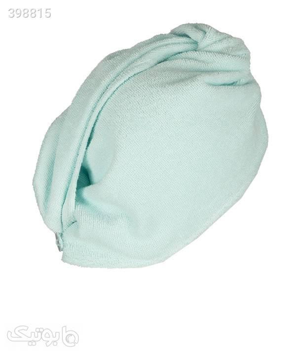 کلاه حوله ای آنتی باکتریال - فیروزه ای فیروزه ای کلاه و اسکارف