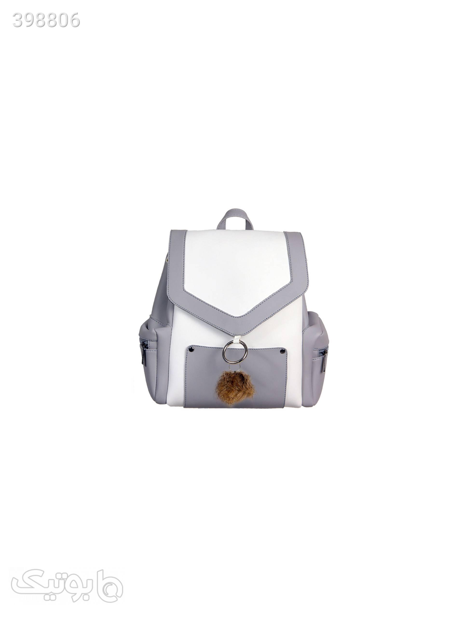 کوله پشتی زنانه LNZ-BG-01 طوسی کوله پشتی