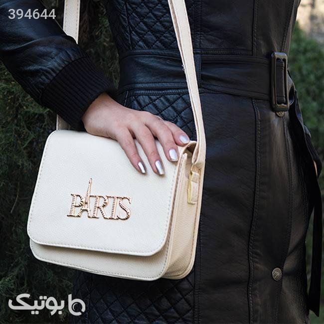 کیف زنانه Paris(کرمی) کرم كيف زنانه