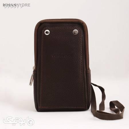 کیف کارت و موبایل کابوک مشکی کیف پول